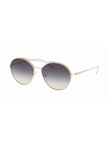 Prada Prada 56Us Zvnnj0 55 Ekartman Kadın Güneş Gözlüğü Altın